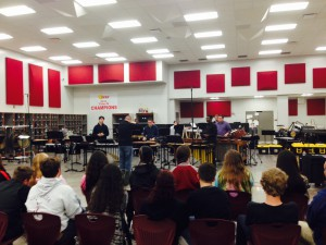 Troy Percussion Ensemble February 26th, 2015